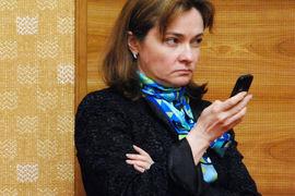 Центробанк рекомендует устанавливать антивирусы на компьютеры, планшеты и смартфоны (на фото – председатель ЦБ Эльвира Набиуллина)
