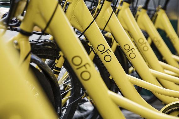 В России появится китайская система велопроката Ofo