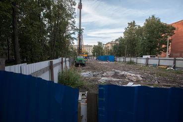 «Интерконтракт» снес здание, но к строительству нового так и не приступил