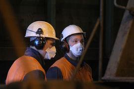 На шахте «Северстали» опять эвакуация