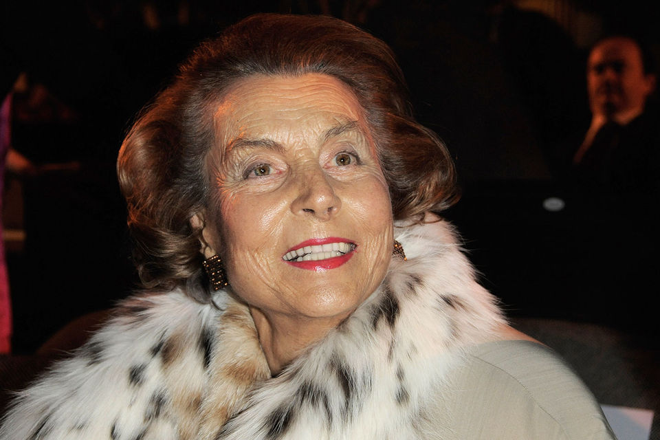 Самая богатая женщина мира Лилиан Бетанкур