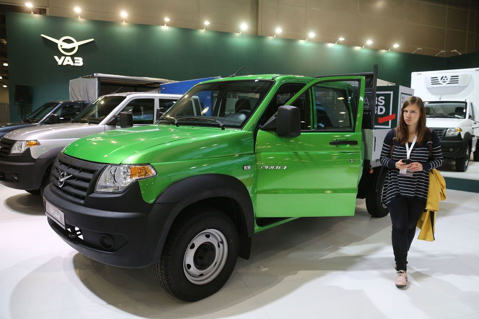 Первый «Профи» – среднетоннажный грузовик – был представлен в сентябре