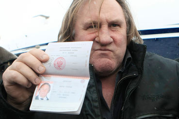 Французский актер Жерар Депардье, которому было предоставлено российское гражданство