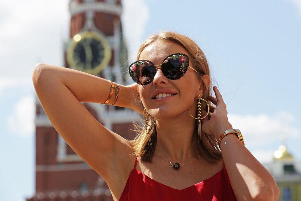 Ксения Собчак объявила об участии в выборах президента