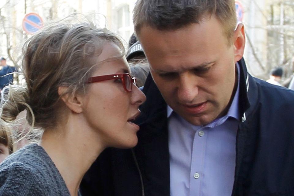 Собчак предложила Навальному стать еедоверенным лицом