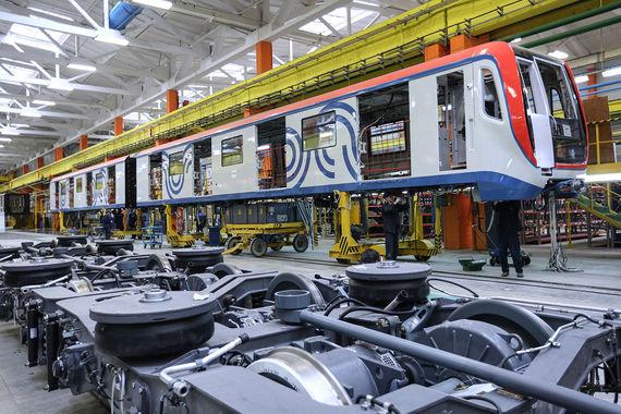 Внешэкономбанк профинансирует покупку Московским метрополитеном новых вагонов «Москва»
