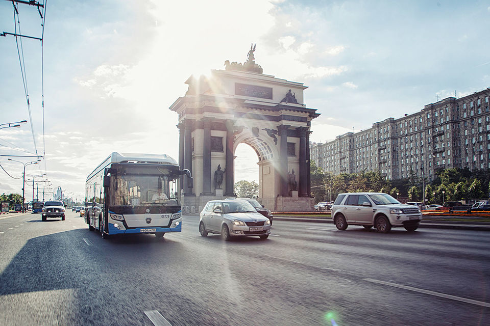 Электробус группы ГАЗ проработал на пассажирских маршрутах в Москве с января по июль 2017