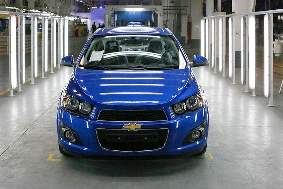 Пятое место занял Chevrolet: цена - 728 000 руб.