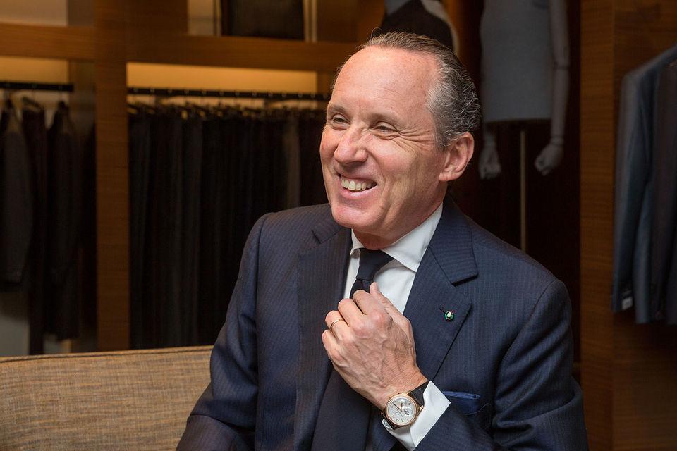 Джильдо Дзенья, генеральный директор Ermenegildo Zegna Group