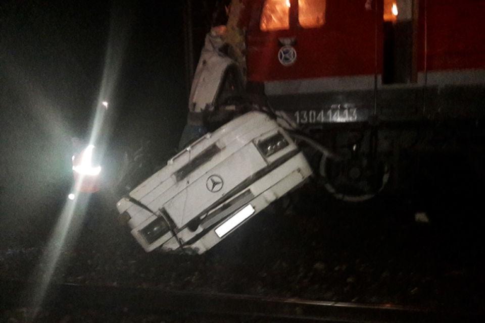 Столкновение произошло в 3.29 мск на  железнодорожной станции Покров Петушинского района Владимирской области