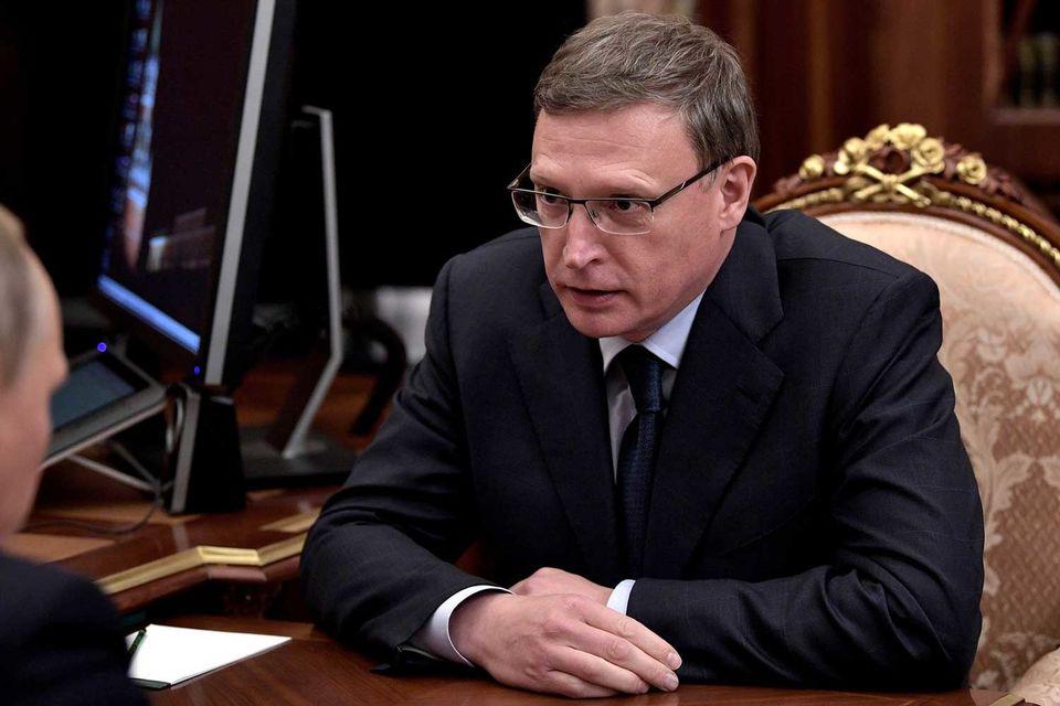 Бурков стал новым губернатором Омской области