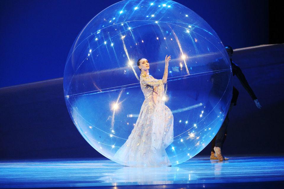 Главную партию в балете Жан-Кристофа Майо исполнила прима Большого театра Ольга Смирнова