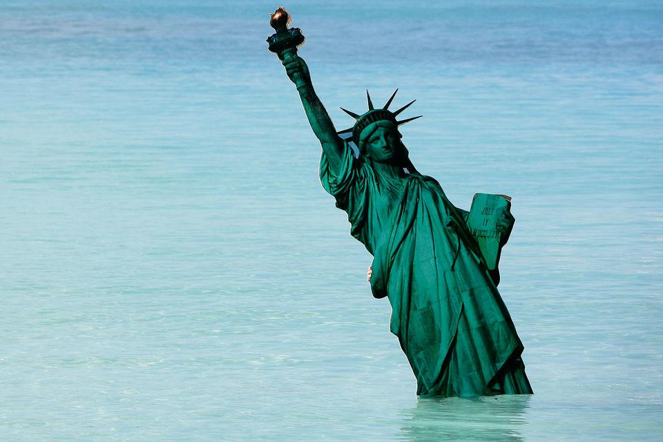 Cтатуя Свободы входит в список всемирного наследия ЮНЕСКО
