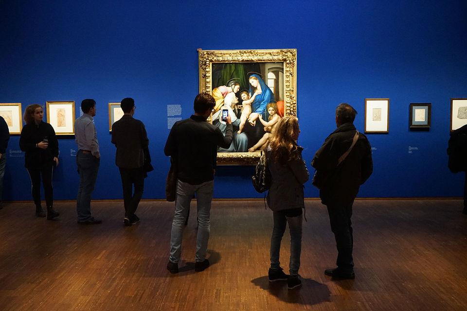 Живопись Рафаэля поражает, но главная суть выставки – рисунки