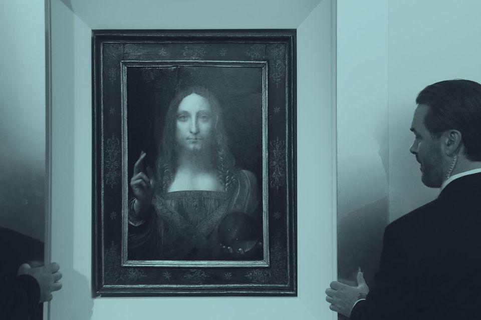 «Спаситель мира» в некотором смысле новая картина Леонардо да Винчи. Она признана принадлежащей кисти гения только несколько лет назад