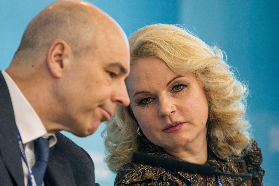 Председатель Счетной палаты Татьяна Голикова указала министру финансов Антону Силуанову на ошибки в бюджете
