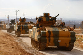 Турецкие военные зашли в сирийскую провинцию Идлиб