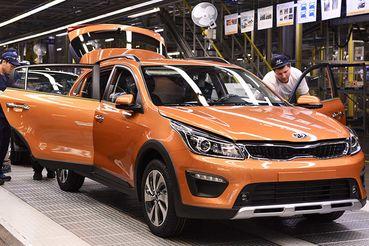 Kia начала выпускать в России cross-версию хетчбэка Rio X-Line