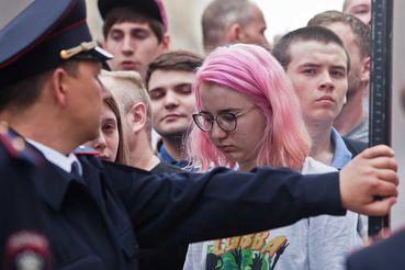 Омоложение участников протестов сильно беспокоит правоохранителей