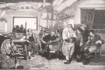 Петр Первый сам многому научился в Голландии и нанял многих специалистов для работы в России