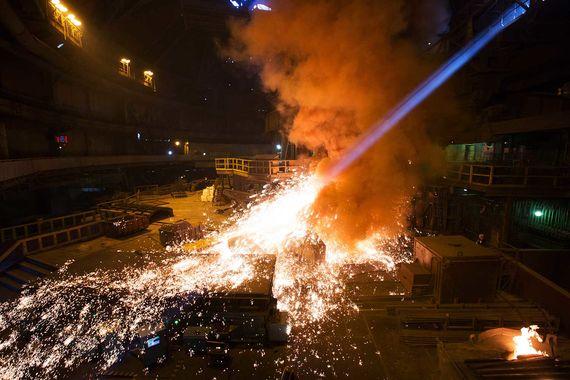 Производство стали в России выросло благодаря оживлению экономики