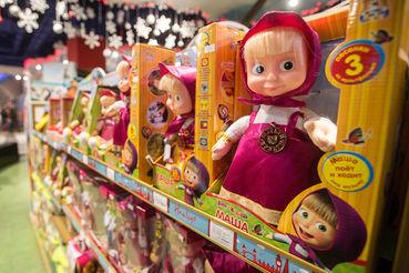 В десятке самых продаваемых лицензированных игрушек в России только один российский бренд – «Маша и Медведь»