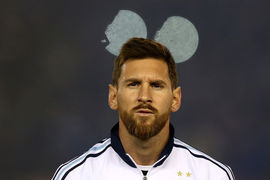 Лучший бомбардир в истории сборной Аргентины  - Лионель Месси