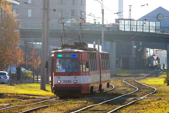 normal 24z Трамвайное движение в Красногвардейском районе запустят с опозданием на два месяца