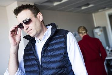 Навальный был задержан 29 сентября в подъезде дома в Москве