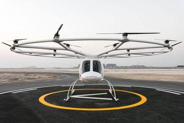 Самый тяжелый летающий беспилотник гражданского назначения – это летающее такси Volocopter