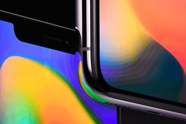 Причина сокращения поставок кроется в сложностях производства дисплеев  из органических светодиодов (OLED), которые нужны для функции  аутентификации лица – новинки iPhone X