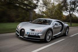 Максимальная скорость Bugatti Chiron – 420 км/ч