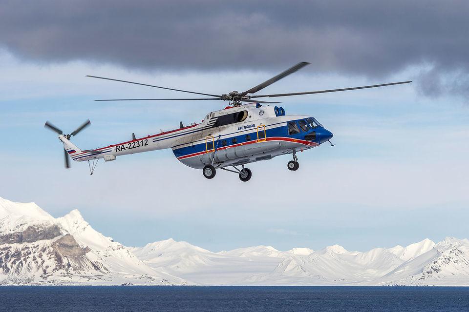Вертолет Ми-8 c бортовым номером RA-22312, 2015 г.