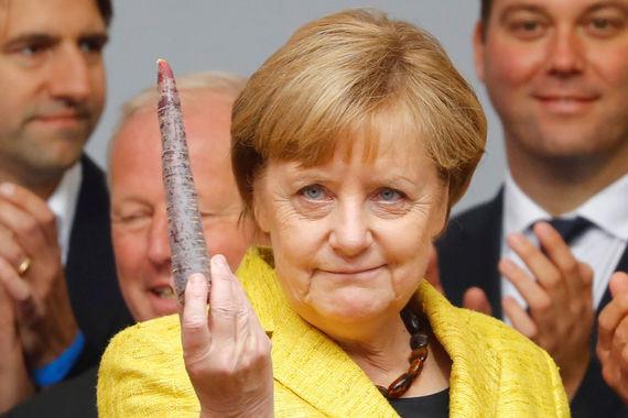 1. Канцлер Германии Ангела Меркель
