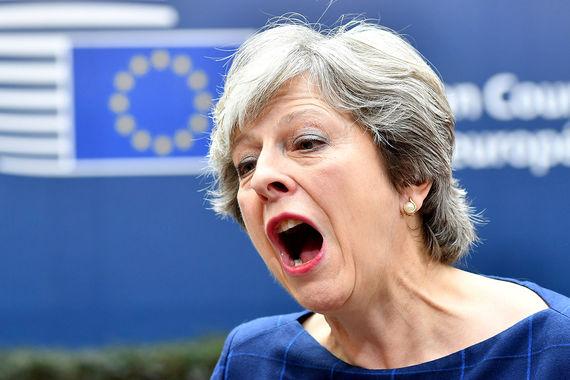 2. Премьер-министр Великобритании Тереза Мэй
