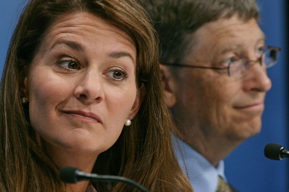 3. Филантроп Мелинда Гейтс