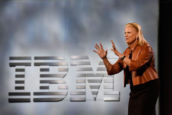 10. Гендиректор IBM Джинни Рометти