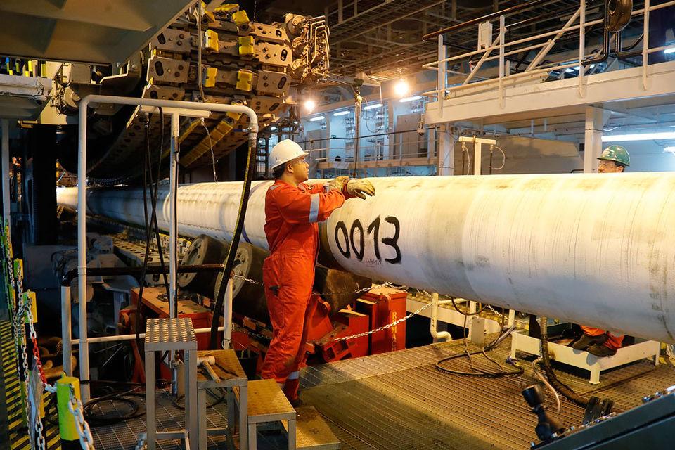 Проект «Турецкий поток» предполагает строительство двух ниток трубопровода через Черное море