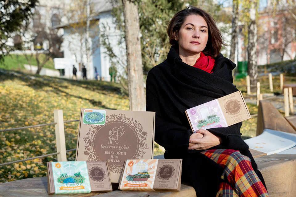 Идея продавать клумбы в коробках пришла Ирине Михайловой в голову во время тура по британским дизайнерским агентствам