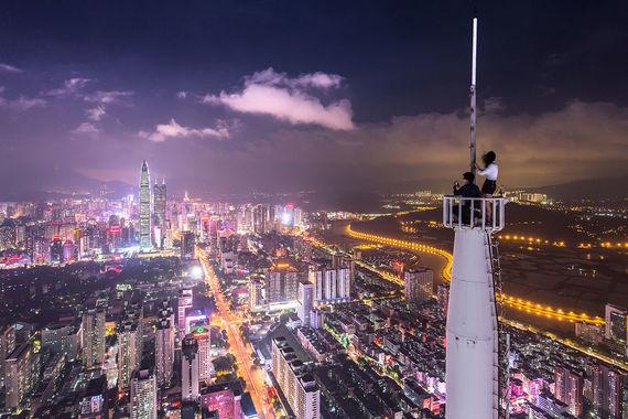 В граничащий с Гонконгом Шэньчжэнь за первые восемь месяцев 2017 г. приехали 13 млн туристов