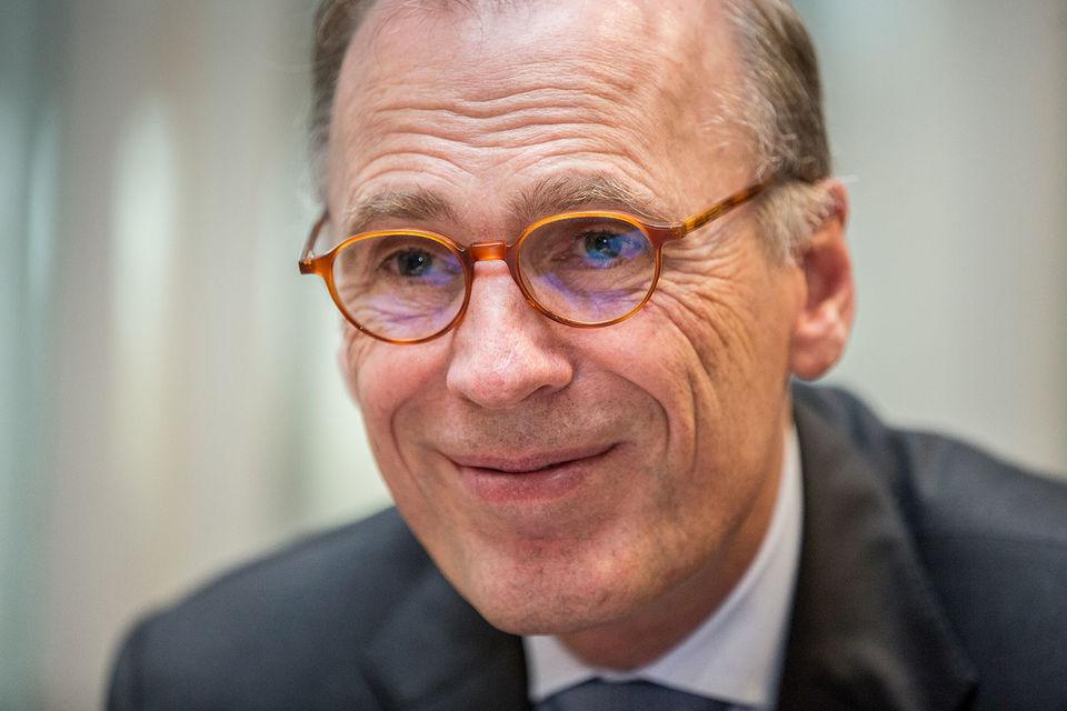Кеес 'т Харт, президент и главный исполнительный директор Carlsberg Group