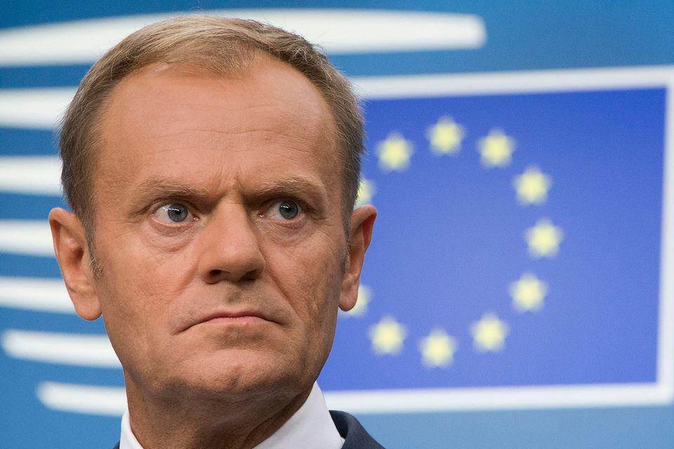 Президент Евросовета Дональд Туск