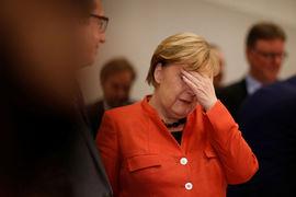 Провал переговоров о коалиции – катастрофа для Меркель, которой теперь придется бороться за политическое выживание, считает немецкий Der Spiegel