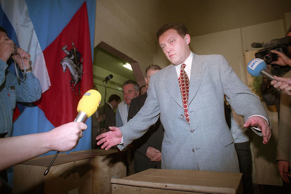 Лидер партии «Яблоко» Григорий Явлинский дважды принимал участие в президентских выборах - в 1996 и 2000 гг. Его лучший результат - 7,3% голосов - получен на выборах в 1996 г.