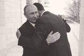 Наконец, 20 ноября в Россию на встречу с Путиным прилетел президент Сирии Башар Асад