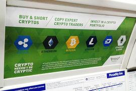 Инвестиции в криптовалюты уже рекламируются в лондонском метро