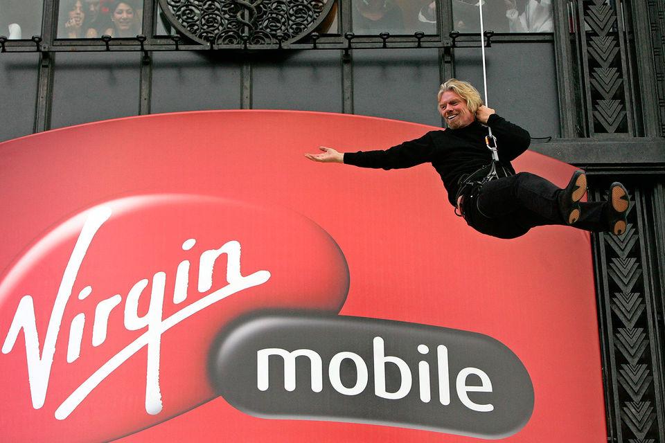 Основатель корпорации Virgin Group Ричард Брэнсон
