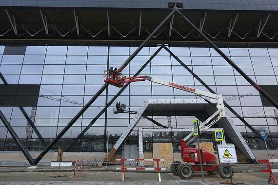 Расчетная пропускная способность нового терминала – 20 млн пассажиров в год