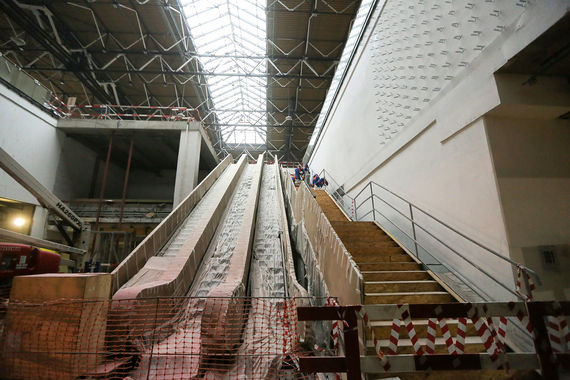 Будущие эскалаторы