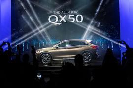 Infiniti представил на автосалоне в Лос-Анджелесе второе поколение среднеразмерного кроссовера QX50